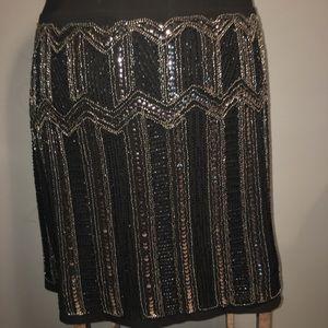 Torrid Sequin Front Skirt